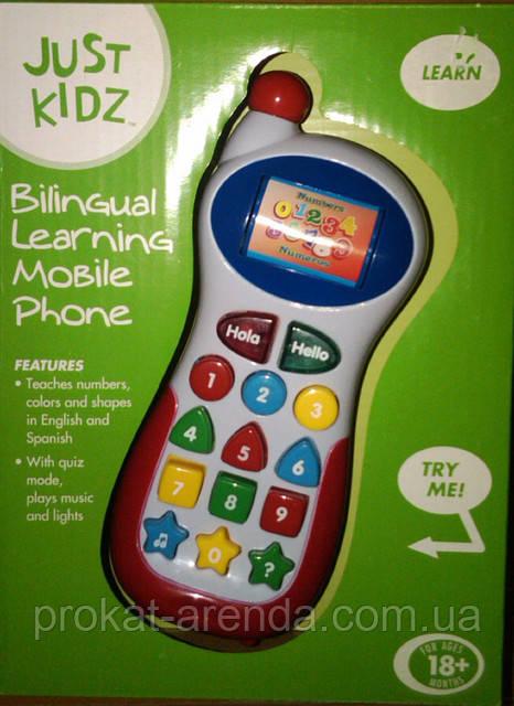 Игрушка мобильный телефон
