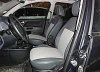 Чехлы на сиденья Форд Фьюжен (чехлы из экокожи Ford Fusion стиль Premium)