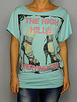 Женская футболка № 8010 жіноча футболка