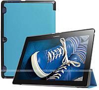 Чехол Slimline для Lenovo Tab 2 A10-30 X30F, X30L, TB-X103F Blue + пленка