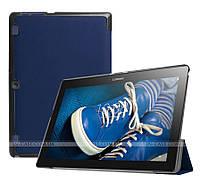 Чехол Slimline для Lenovo Tab 2 A10-30 X30F, X30L, TB-X103F Navy Blue + пленка