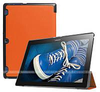 Чехол Slimline для Lenovo Tab 2 A10-30 X30F, X30L, TB-X103F Orange + плёнка