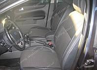 Чехлы на сиденья Форд Фокус 2 (чехлы из экокожи Ford Focus 2 стиль Premium)