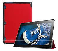 Чехол Slimline для Lenovo Tab 2 A10-30 X30F, X30L, TB-X103F Red  + плёнка