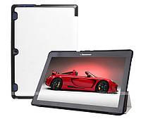 Чехол Slimline для Lenovo Tab 2 A10-30 X30F, X30L White + пленка