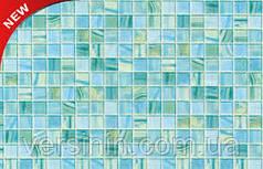 Пластиковоя панель Мозаика бирюзовая