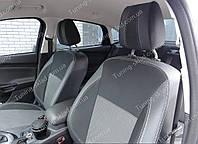 Чехлы на сиденья Форд Фокус 3 (чехлы из экокожи Ford Focus 3 стиль Premium)