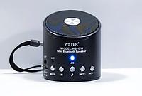 Портативная беспроводная Bluetooth колонка WSTER WS-Q10 с MP3 и pадио
