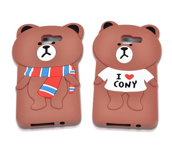 "Samsung A510 A5 2016 противоударный чехол накладка бампер защита 360*  3D SOFT TPU для телефона ""TEDDY BEAR"""