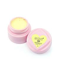Гель-пластилин 3D Modelling Gel GD COCO № 01 (светло-желтый) , 8 г