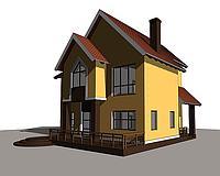 Проектирование  коттеджей; визуализация, дизайн, интерьеров, реконструкция зданий