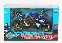 Мотоцикл металл 1:10 YAMAHA 2008 YZF-R1 WELLY