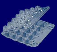 Одноразовый контейнер для перепелигых яиц/28J