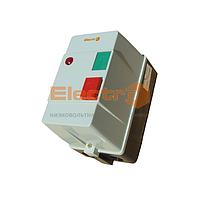 """Пускатель (контактор) ПМЛк-1 40А + реле в метал. корп. IP54 220В/АС3 с индикатором ТМ """"Electro"""""""