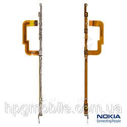 Шлейф для Nokia Lumia 925, кнопки включения, боковых клавиш, с компонентами, оригинал