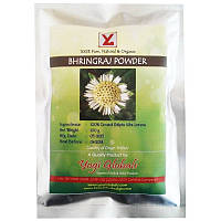 Брингарадж порошок, Эклипта белая, Bhringraj powder, 100 гр, фото 1