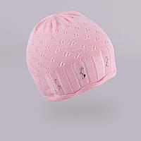 Демисезонная шапка для девочки TuTu арт. 3-002519(46-50)