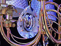 Люстра классическая на 8 лампочек  FG (золото) P3-4679/8A/FG