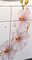 Зеркало для ванной с подсветкой Орхидея-60( правое и левое)