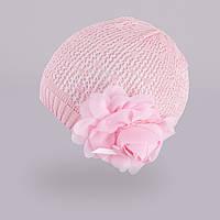 Демисезонная шапка для девочки TuTu арт. 3-002523(50-54), фото 1