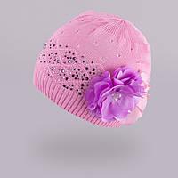 Демисезонная шапка для девочки TuTu арт. 3-002524(48-50, 50-52), фото 1