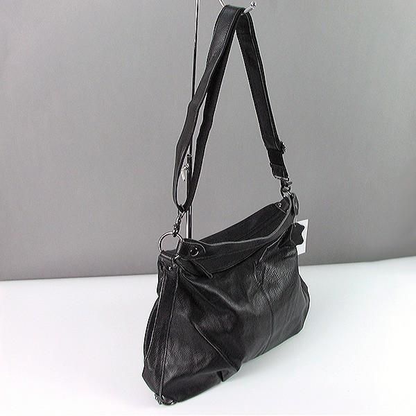 42ca52b83168 Черная кожаная мягкая сумка-багет: продажа, цена в Днепре. женские ...
