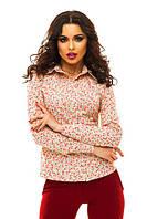 Рубашка с цветочным принтом.Выбор цветов, фото 1