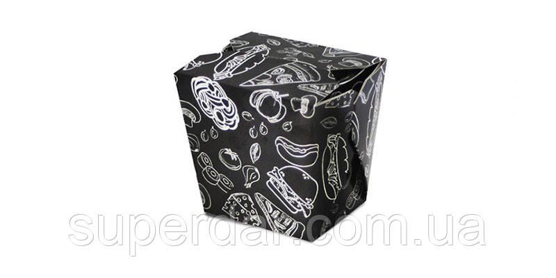 Упаковка для лапши/риса/салата на 500 мл/300 г, Мел