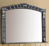 Дзеркало Александрія-1100 (чорний, патина срібло)