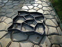 Форма для изготовления садовой дорожки