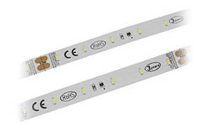 Светодиодная лента,  5,2W SMD 3014 (60LED/m), Indoor IP33, DC 24V