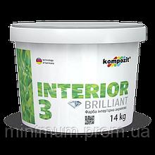 Kompozit Interior 3 фарба акрилова 14 кг