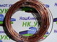 Труба медная, капиллярная, диаметр 1.0м*2,0мм