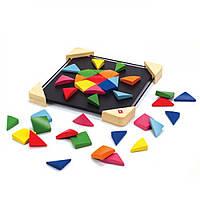 "Детская игра ""магнитная мозаика"" из бамбука,Наре, фото 1"