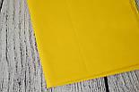 Лоскут ткани №35а тёмно-жёлтого цвет, размер 72*76 см, фото 2