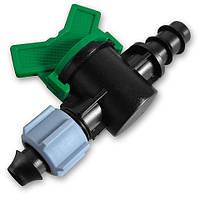 Старт-конектор для трубки з піджимною гайкою та мінікраном