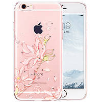 Чехол для iPhone 6/6S - Hoco Super star series (Swarovski diamond flower Bauhinia)