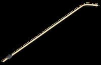 Штанга латунна 78см з форсункою