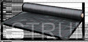 Полипропиленовая черная агроткань 105г/кв.м. против сорняков 1,6х100 м Bradas ATBK10516100 - АСТРУМ в Харькове