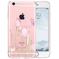 Чехол для iPhone 6/6S - Hoco Super star series (Swarovski diamond flower Tulip)