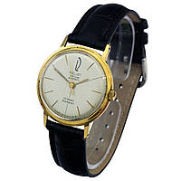 Полет позолоченные советские часы