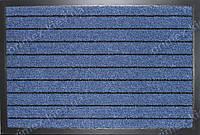 Ковер грязезащитный Широкая полоска, 40х60см., синий