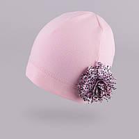 Трикотажная шапка для девочки TuTu  арт. 3-002595 (44-48), фото 1