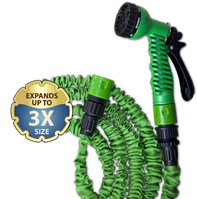 Шланг расширяющийся TRICK HOSE зеленый - коробка 5-15М