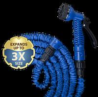 Шланг расширяющийся TRICK HOSE голубой - коробка 7,5-22М