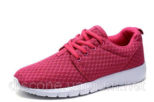 Кроссовки женские/подросток R-Walkere, текстиль, розовые