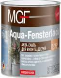 Аква эмаль MGF Aqua-Fensterlack 2.5л