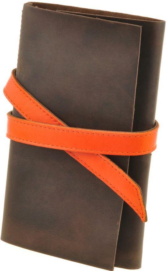 Оригинальный кожаный софт-бук Mehndi BlankNote BN-SB-1-st-mdi коричневый