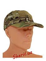 Кепка бейсболка армейская мультикам MIL-TEC Рип-Стоп Multicam, 12319049