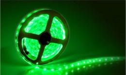 Светодиодная лента smd 5050 60д/м IP65 зеленый